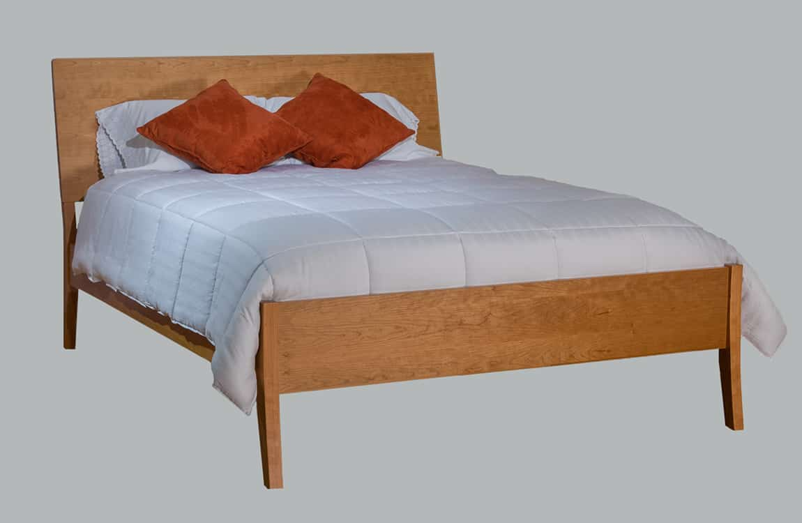 Burke Slanted Sleigh Bed Low Footboard