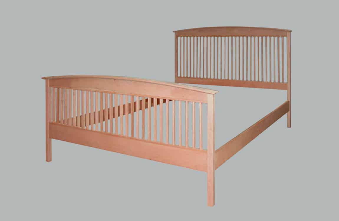 Stowe Spindle Bed High Footboard