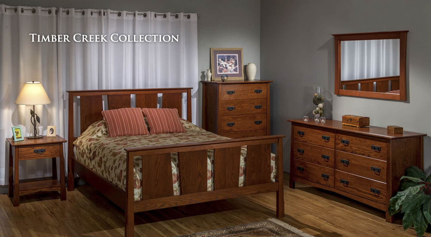 Solid wood furniture bedroom furniture cherry furniture for American made oak bedroom furniture
