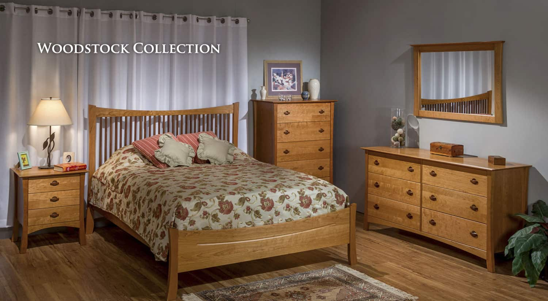 solid wood furniture bedroom furniture cherry furniture vermont made furniture made in usa