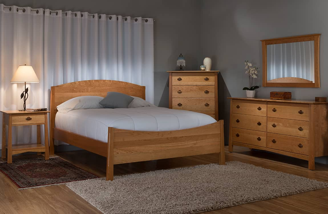 This Sleek And Sophisticated Designed Furniture Is Built Solid And Durable  All Milled And Handcrafted In Vermont.